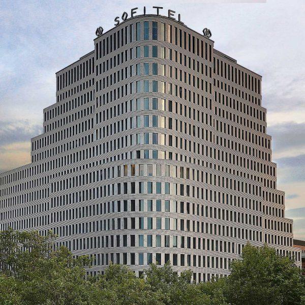 Sofitel Hotel Kurfurstendamm Berlin Offer Outside grey building view