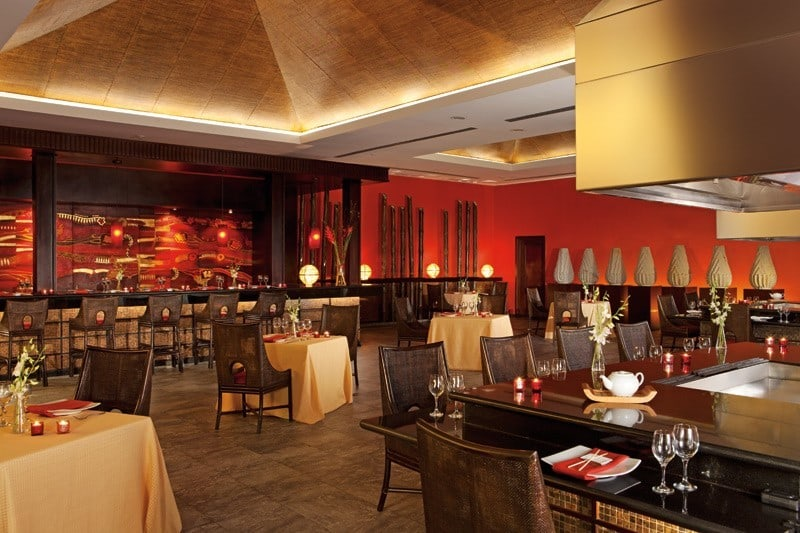 Interior view of Spice Restaurant at Now Larimar Punta Cana
