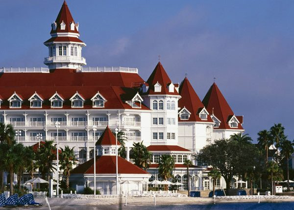View of the exterior at Disney Grand Floridian