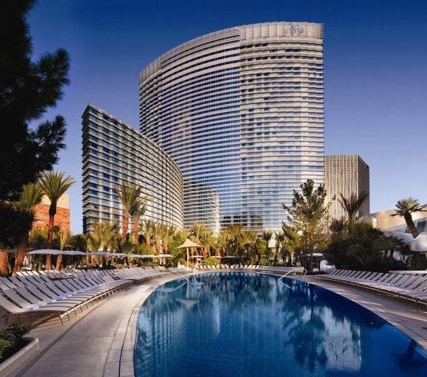 Exterior view of the ARIA Hotel Las Vegas