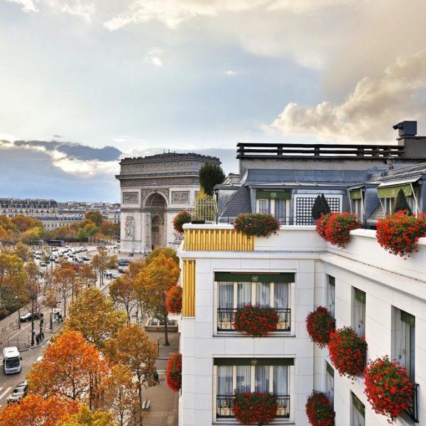 Exterior View of Napoleon Paris in France