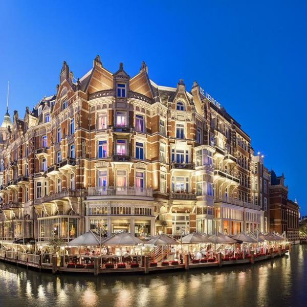 Exterior of De L Europe Amsterdam in The Netherlands