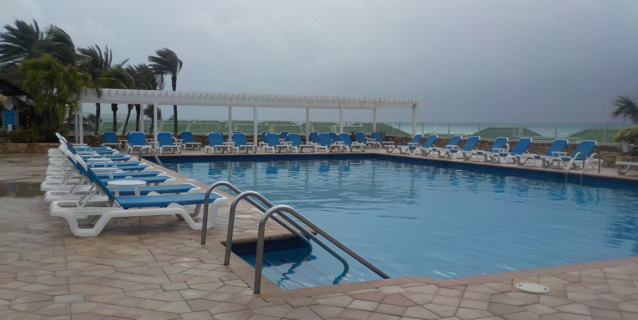 Main swimming pool at St James Club Antigua