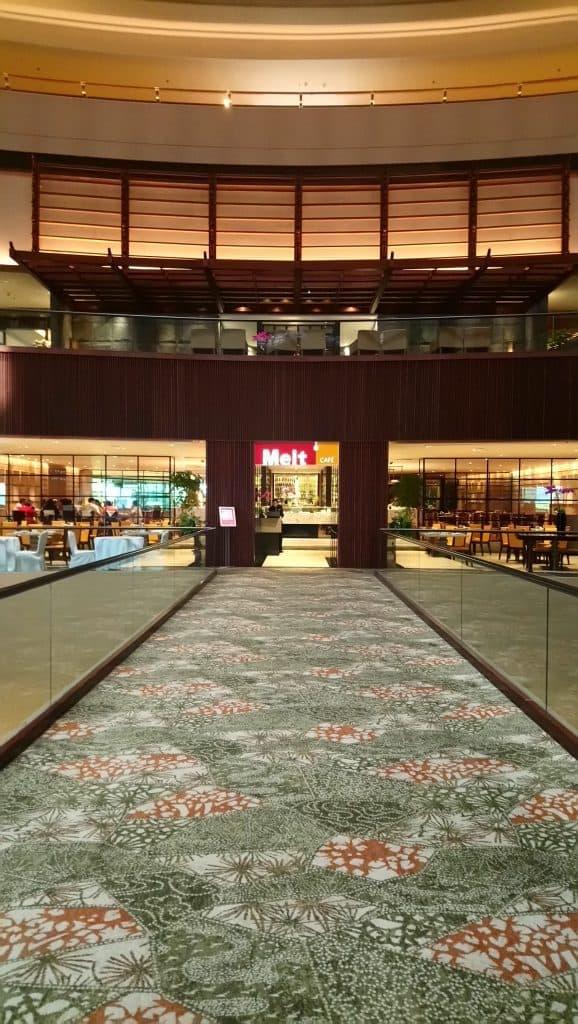 Exterior view of the international buffet, Melt Cafe at Mandarin Oriental Singapore