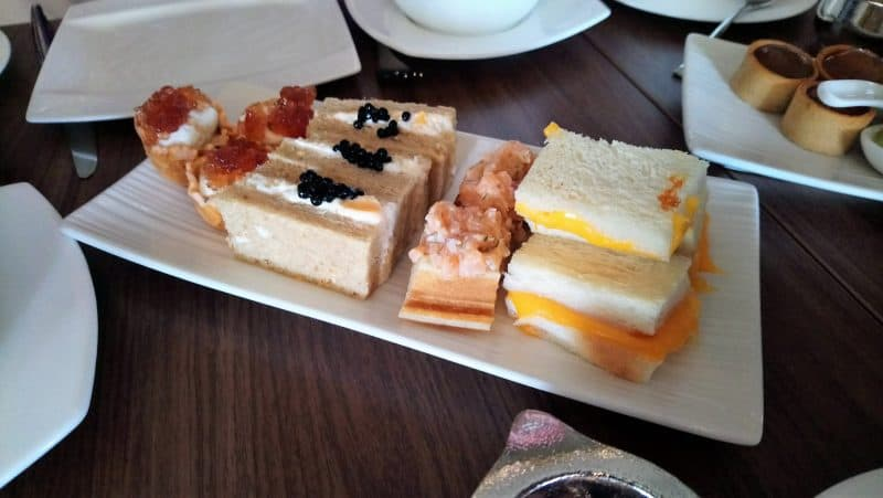 Third course of Mandarin Oriental High Tea in Singapore