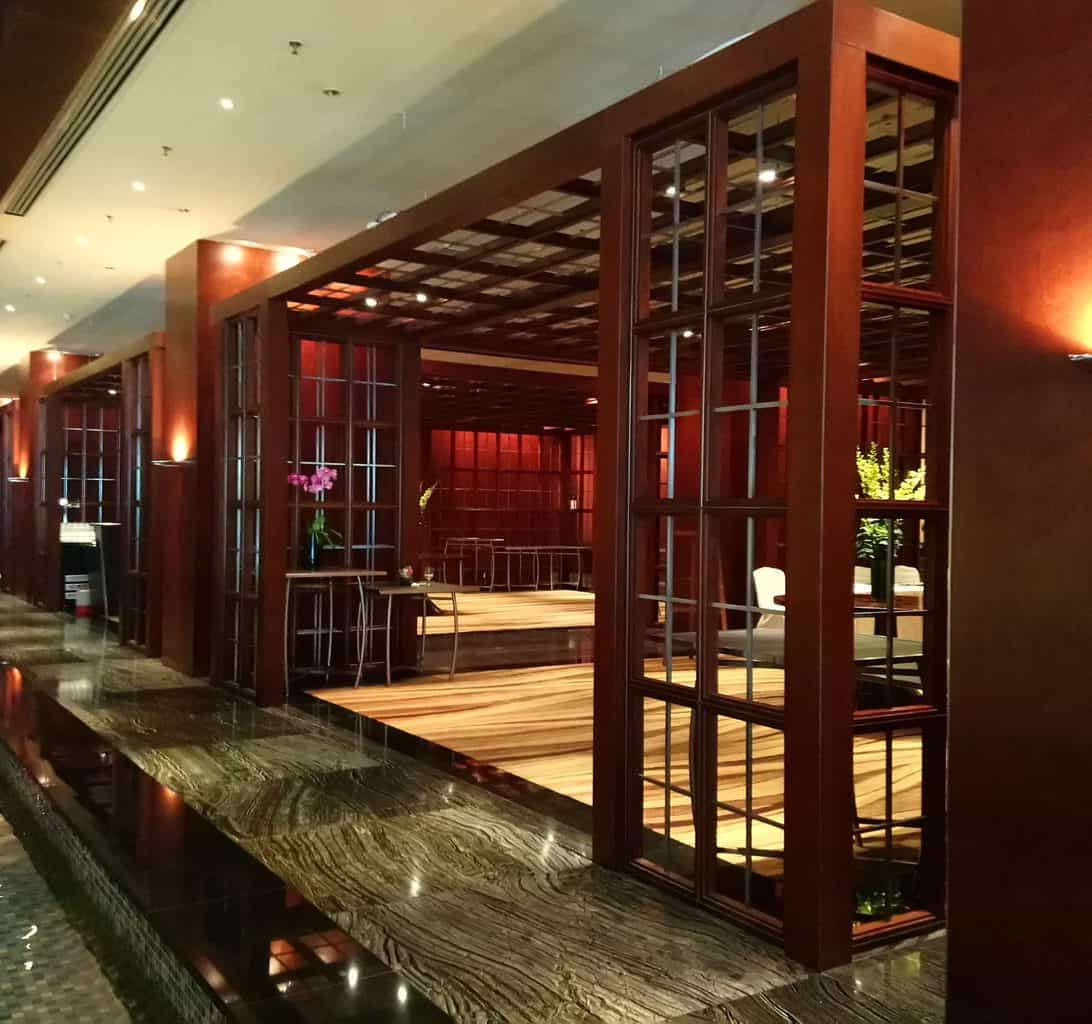 Check-in Desks at Mandarin Oriental Singapore