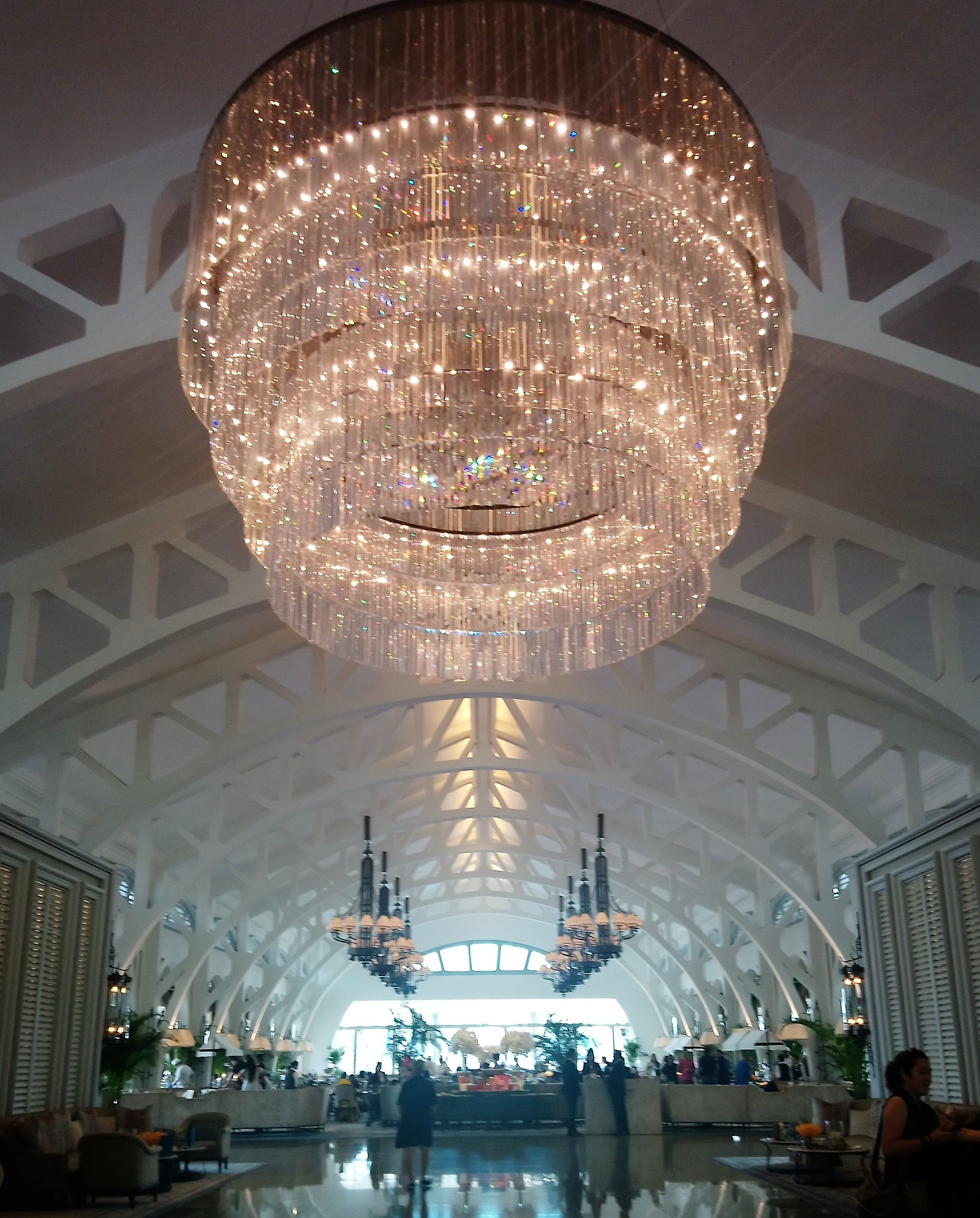 The entrance to The Clifford Pier Restaurant in The Fullerton Bay Hotel Singapore