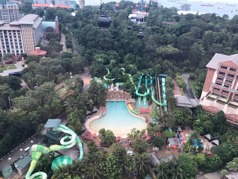 Adventure Cove Waterpark on Sentosa Island