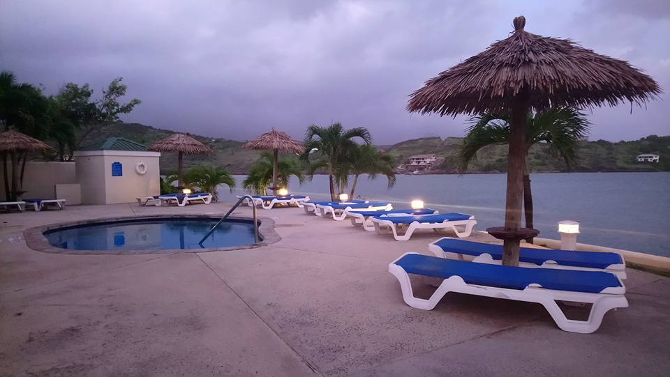 Adults only pool by Royal Suites at St James Club Antigua
