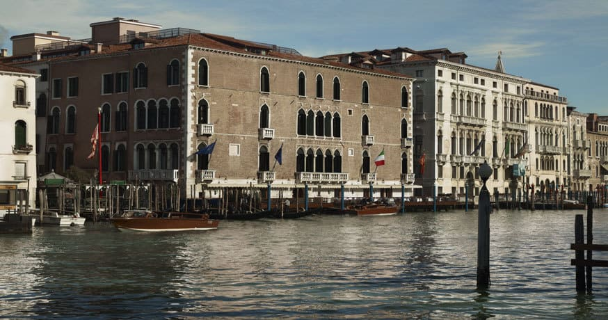 Exterior view of The Gritti Palace in Venice