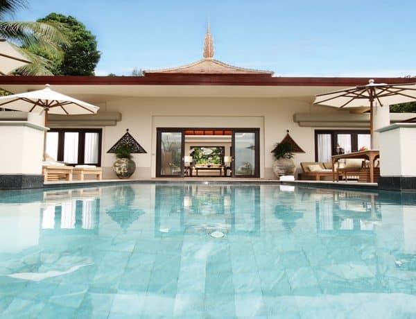 View of a villa at Trisara, Phuket