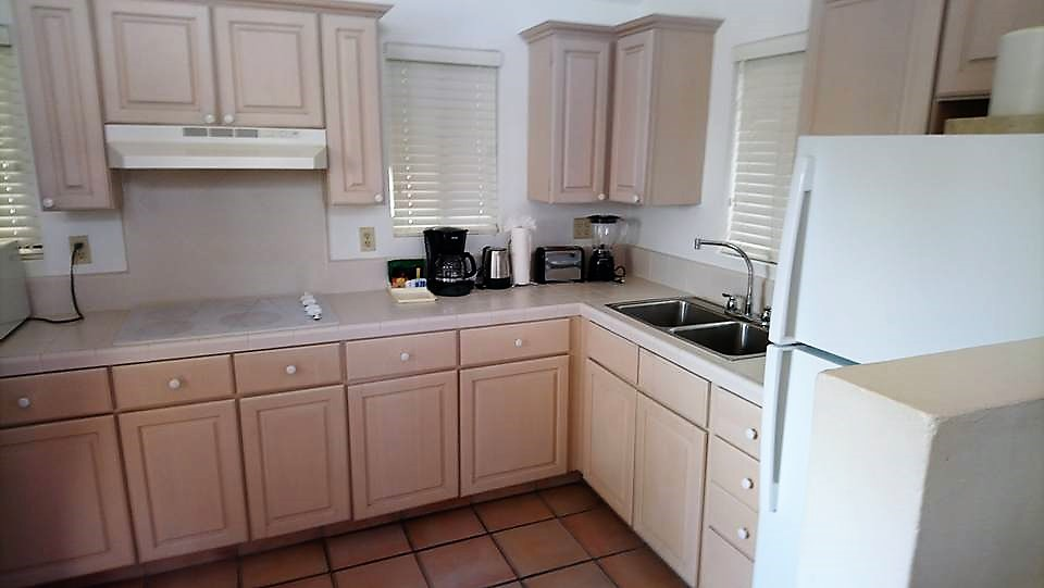 Two Bedroom Villa Kitchen at St James Club Antigua