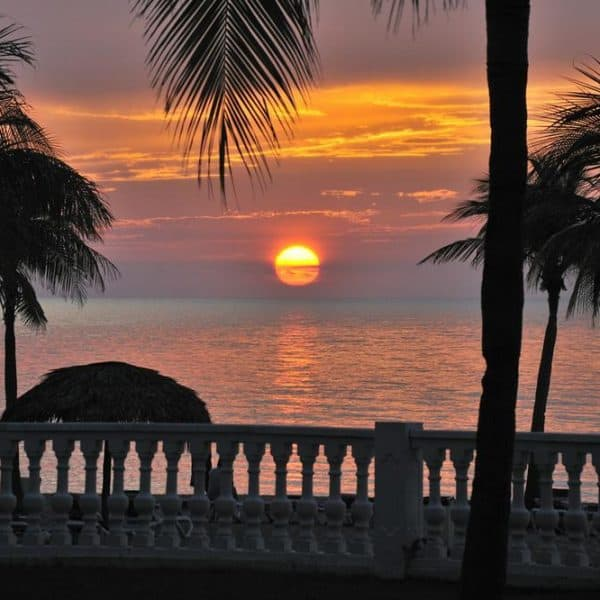 Sunset view at Paradisus Varadero in Cuba