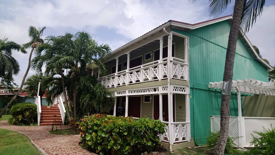 Exterior of the Garden View Rooms at Pineapple Beach Club Antigua