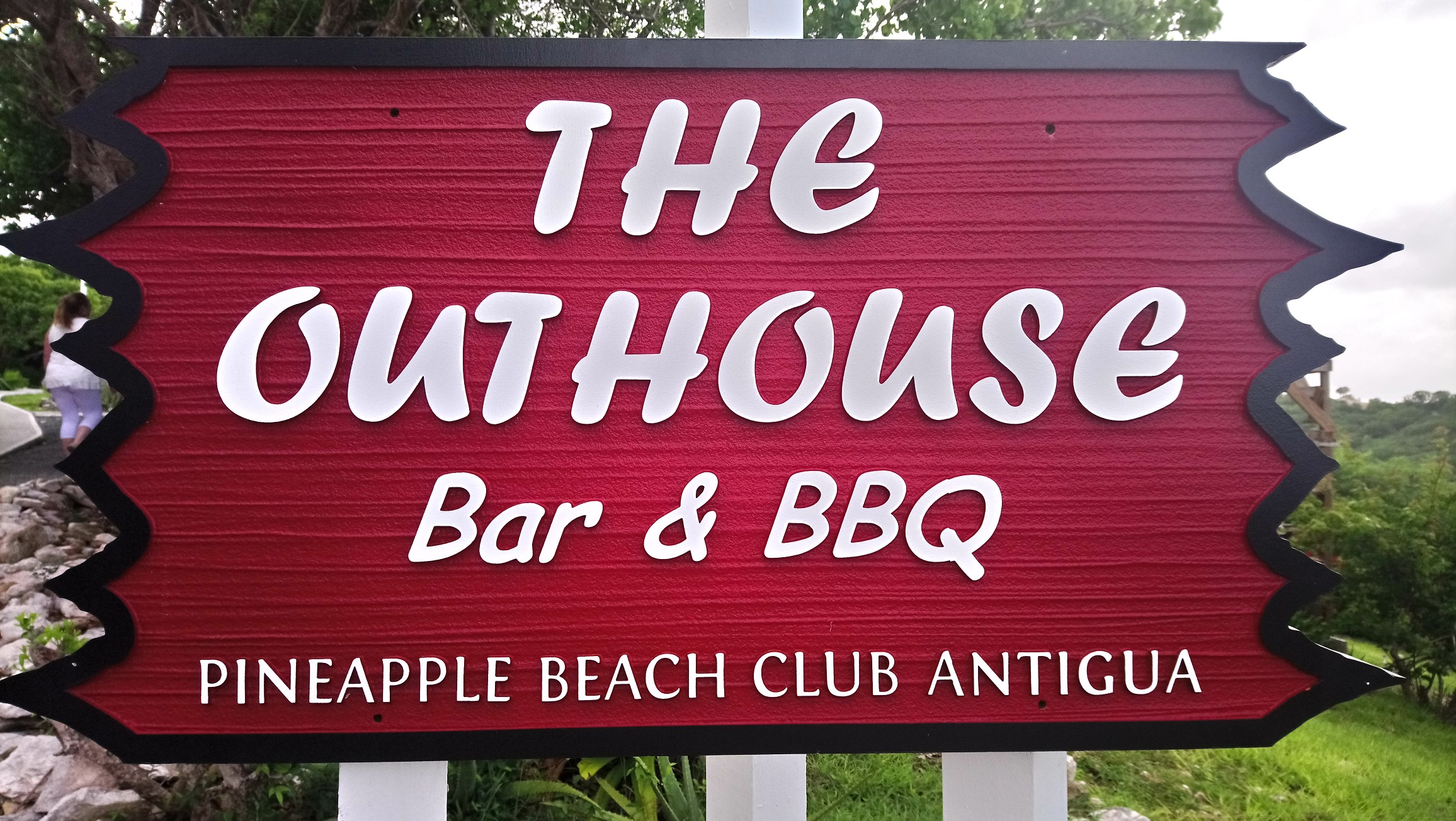 The Outhouse Restaurant at Pineapple Beach Club Antigua