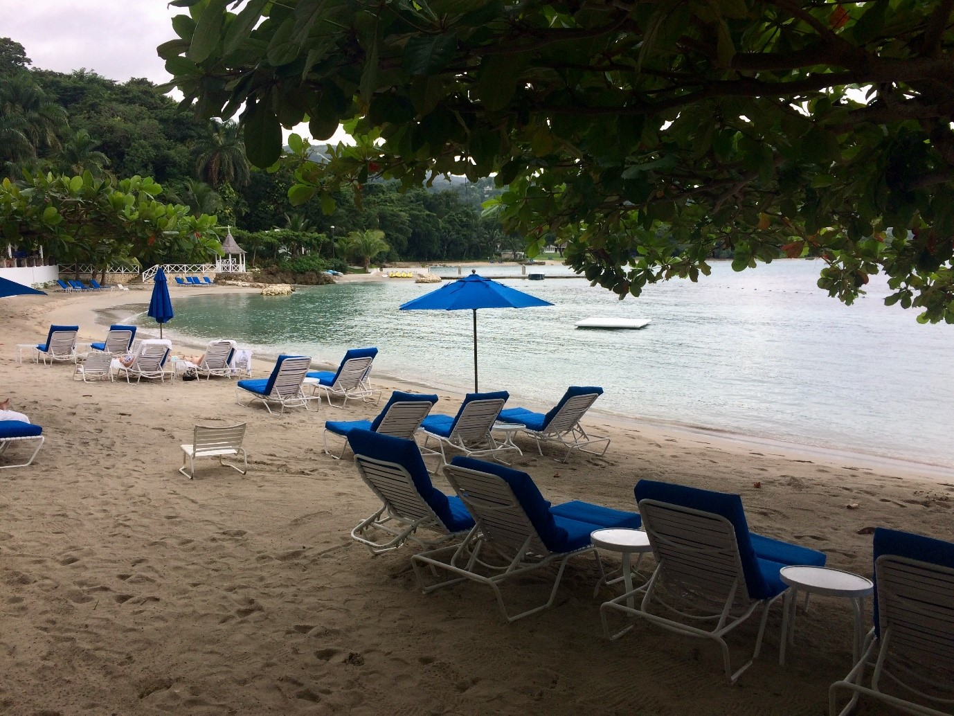 Beach at Round Hill Resort & Villas in Jamaica
