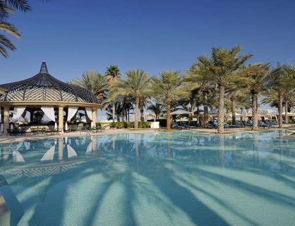 Swimming pool at The Palace at One&Only Royal Mirage