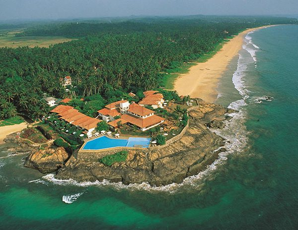 Aerial View from North of Saman Villas Sri Lanka