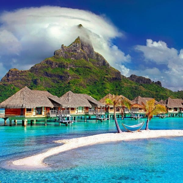 Mount Otemanu, Overwater Villas in Bora Bora - Top Destinations Travel Blog