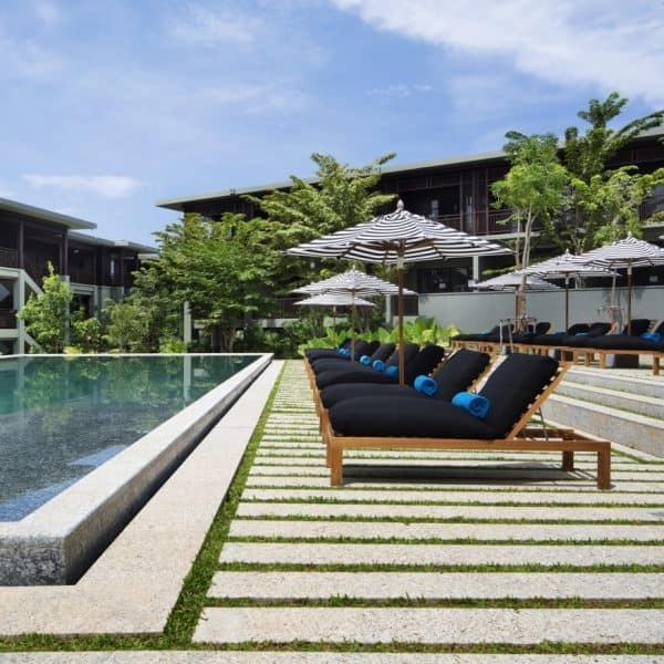 Swimming Pool at Pullman Phuket Arcadia Naithon Beach in Thailand