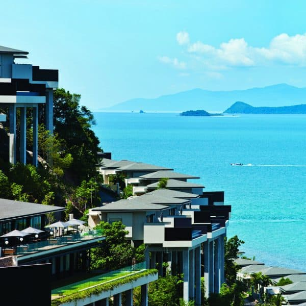 Exterior view of Conrad Koh Samui in Thailand