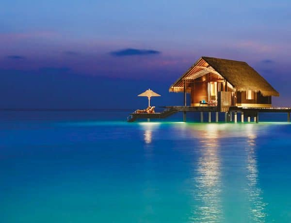 Overwater Villa at the One&Only Reethi Rah in the Maldives