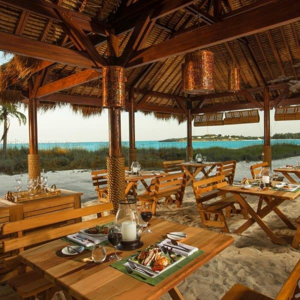 Restaurant at Sandals Emerald Bay, Great Exuma Bahamas