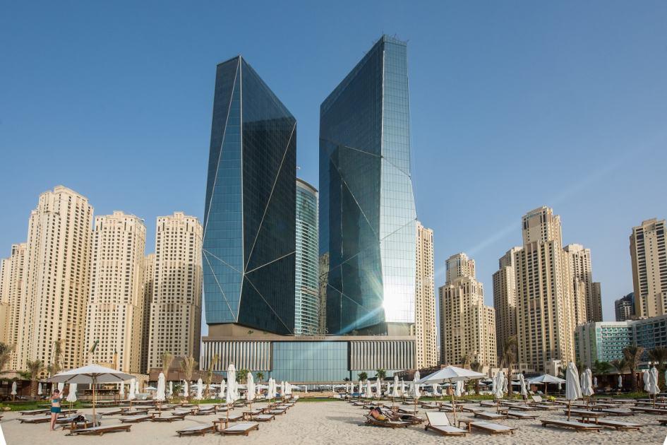 Exterior view of the Rixos Premium Dubai